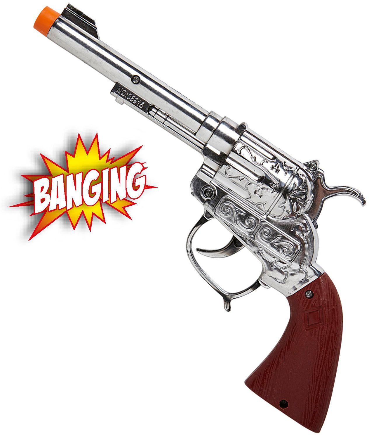 Cowboy handgeweer met geluid en licht
