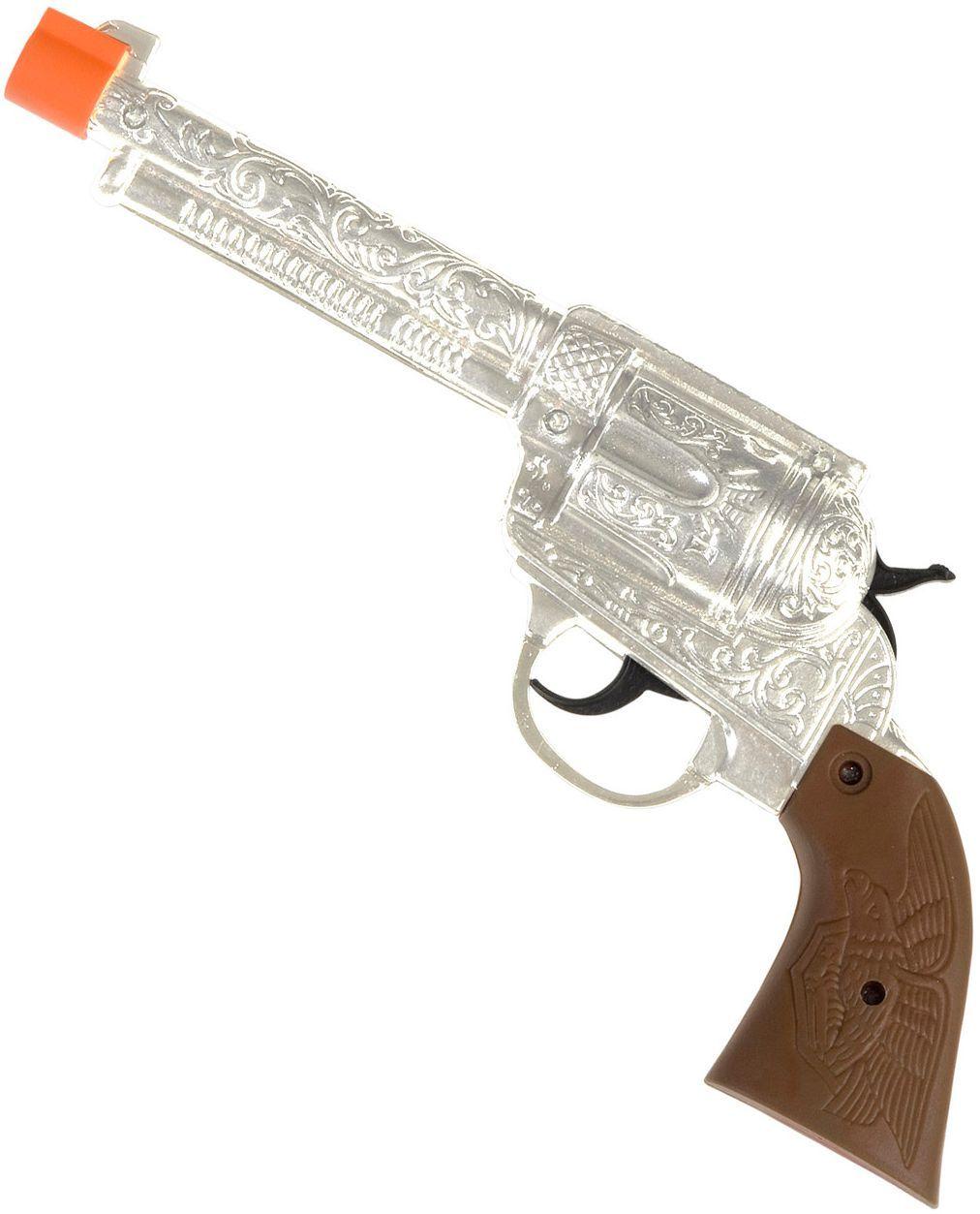 Cowboy revolver zilver