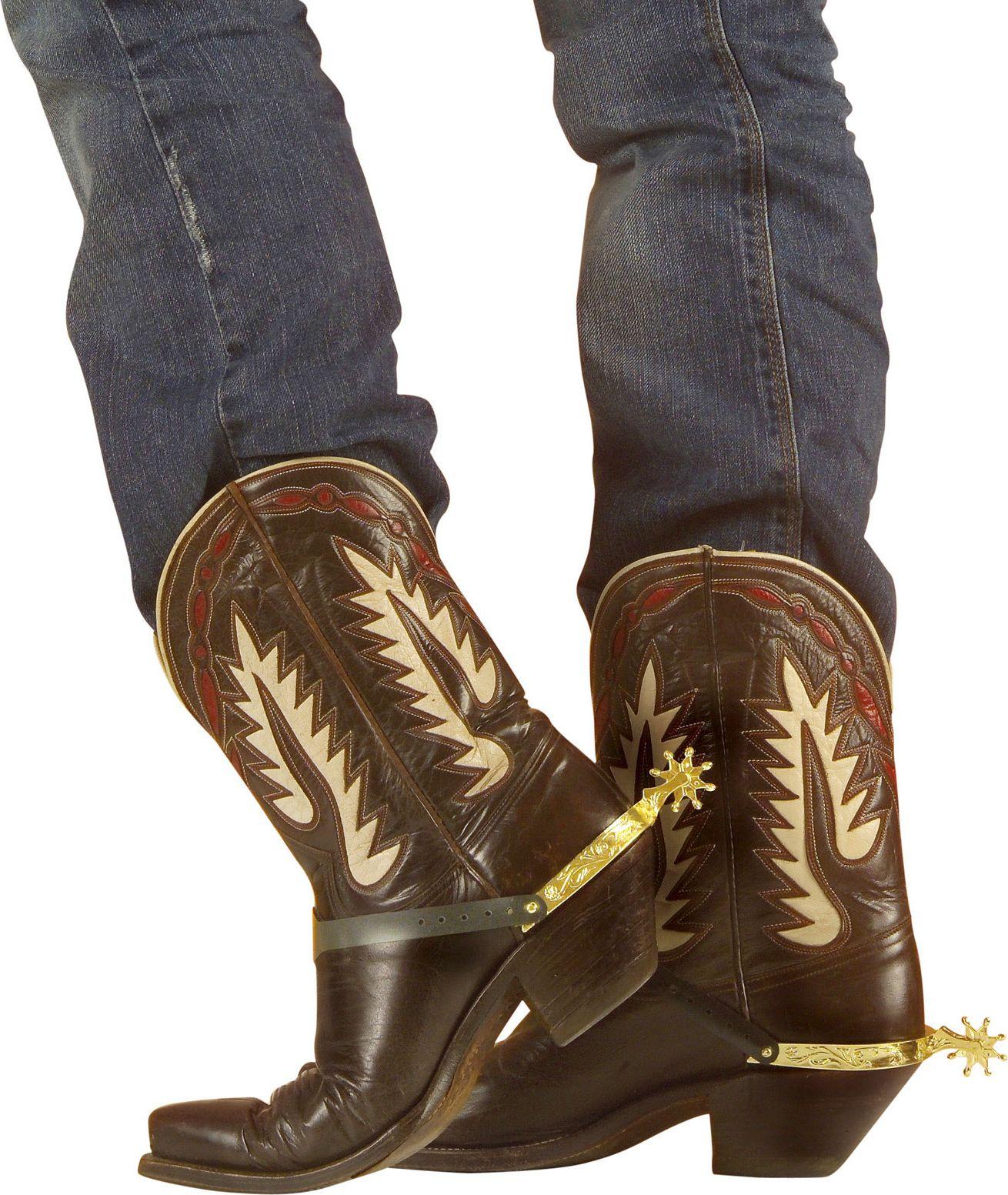 Cowboy sporen goud