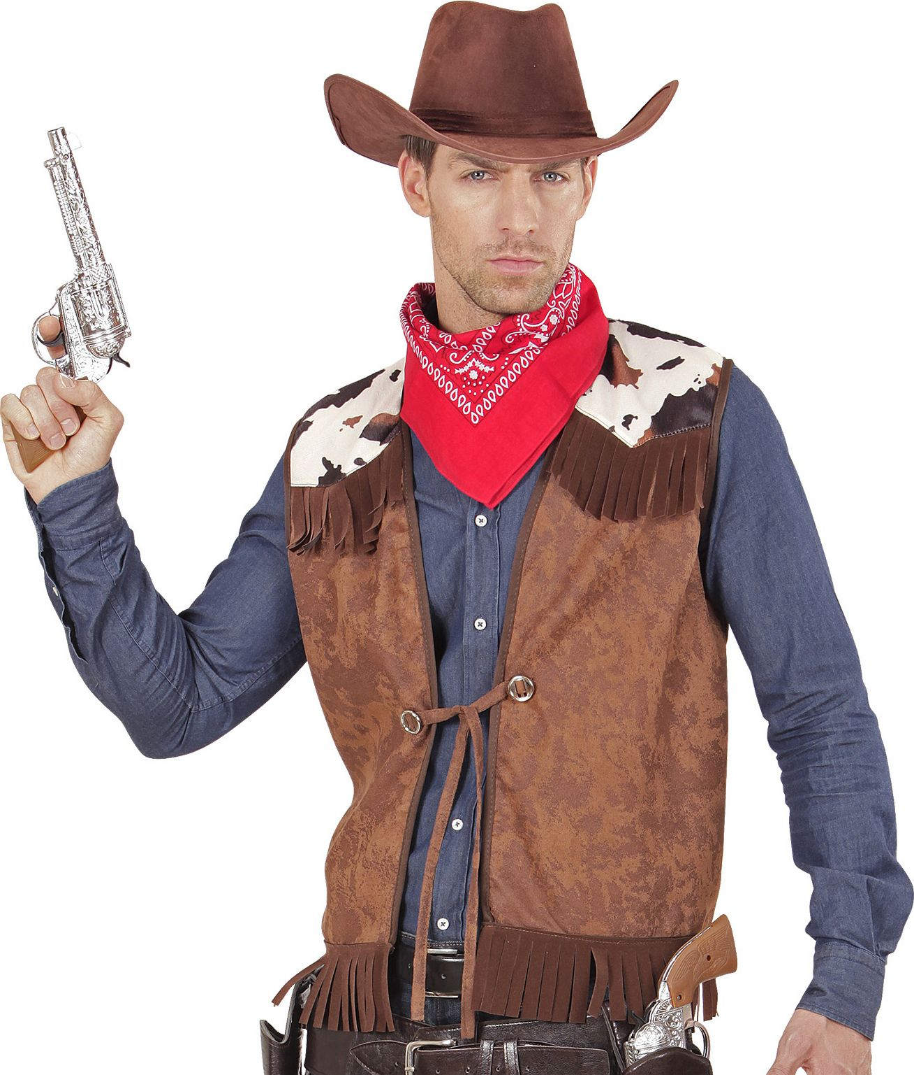 Cowboy vest carnaval