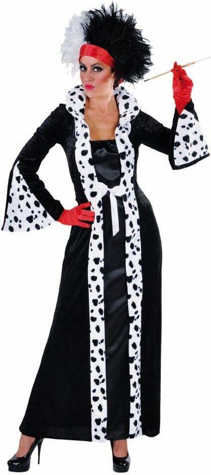 Cruella de vil kleding vrouwen