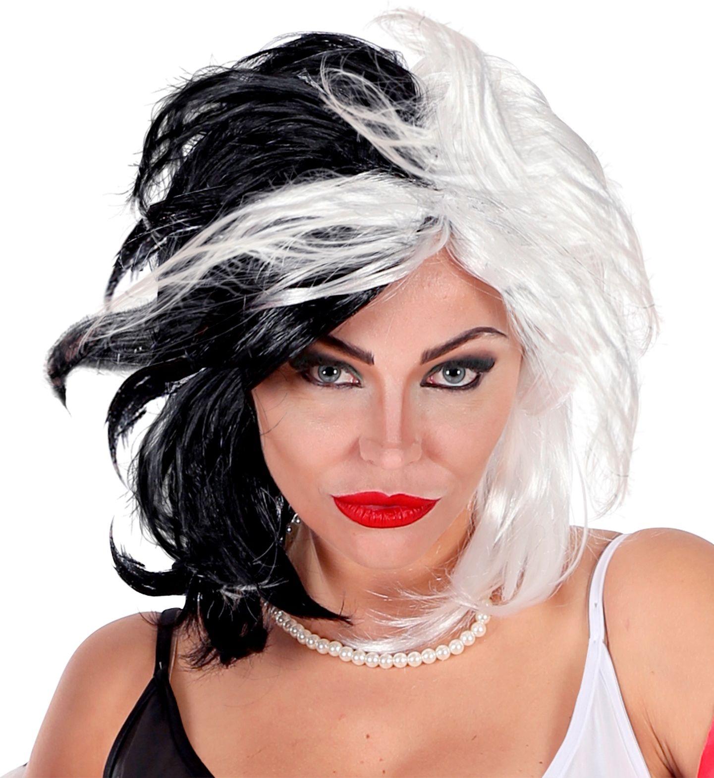 Cruella pruik