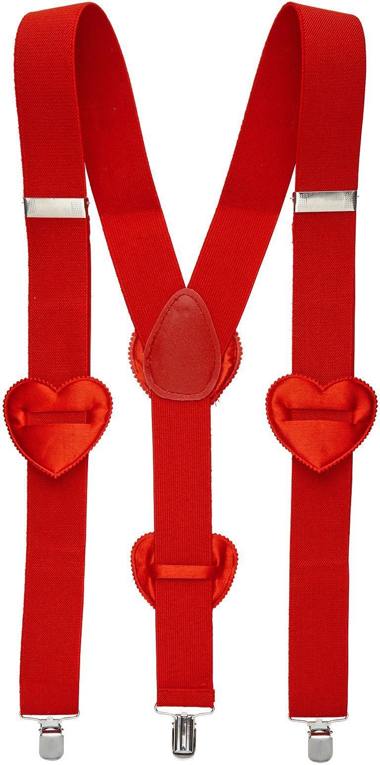 Cupido hartjes bretels