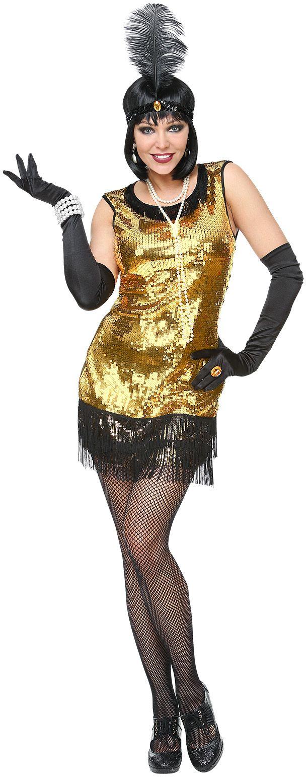 Dames flapper jurk 20s