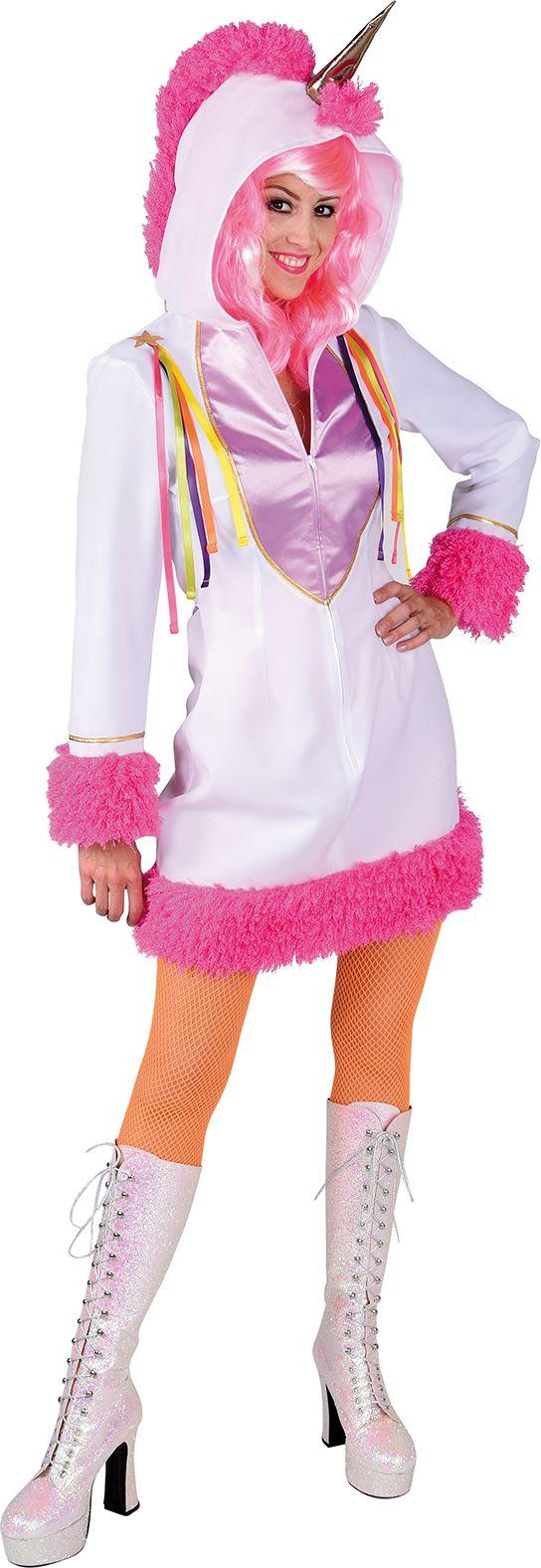 Dames unicorn jurkje