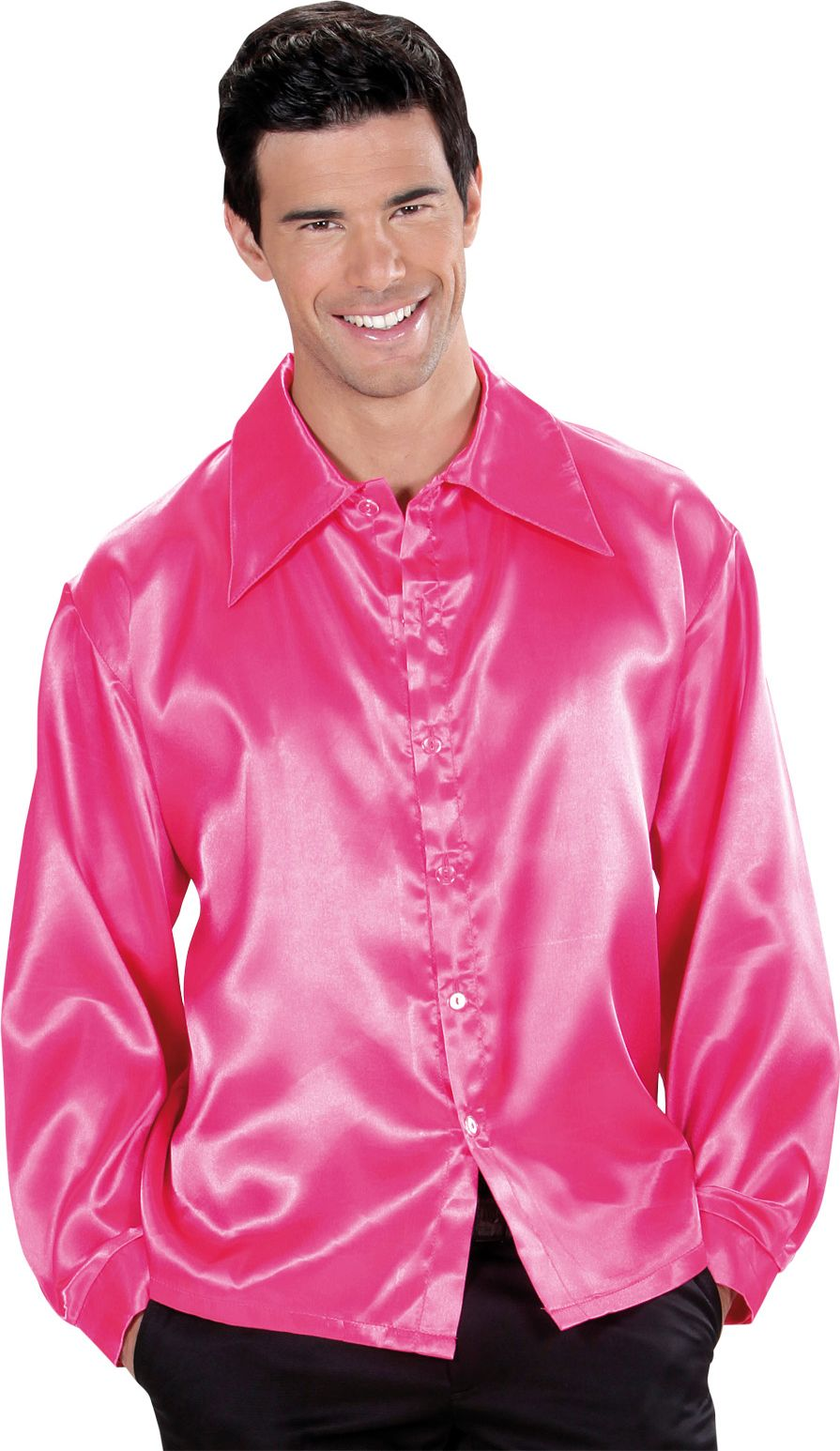 Disco blouse roze