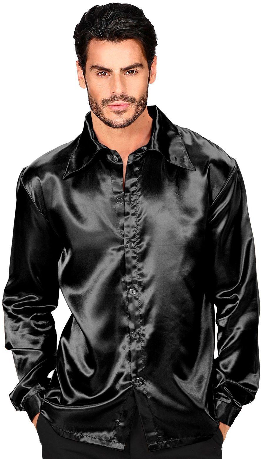 Disco blouse zwart