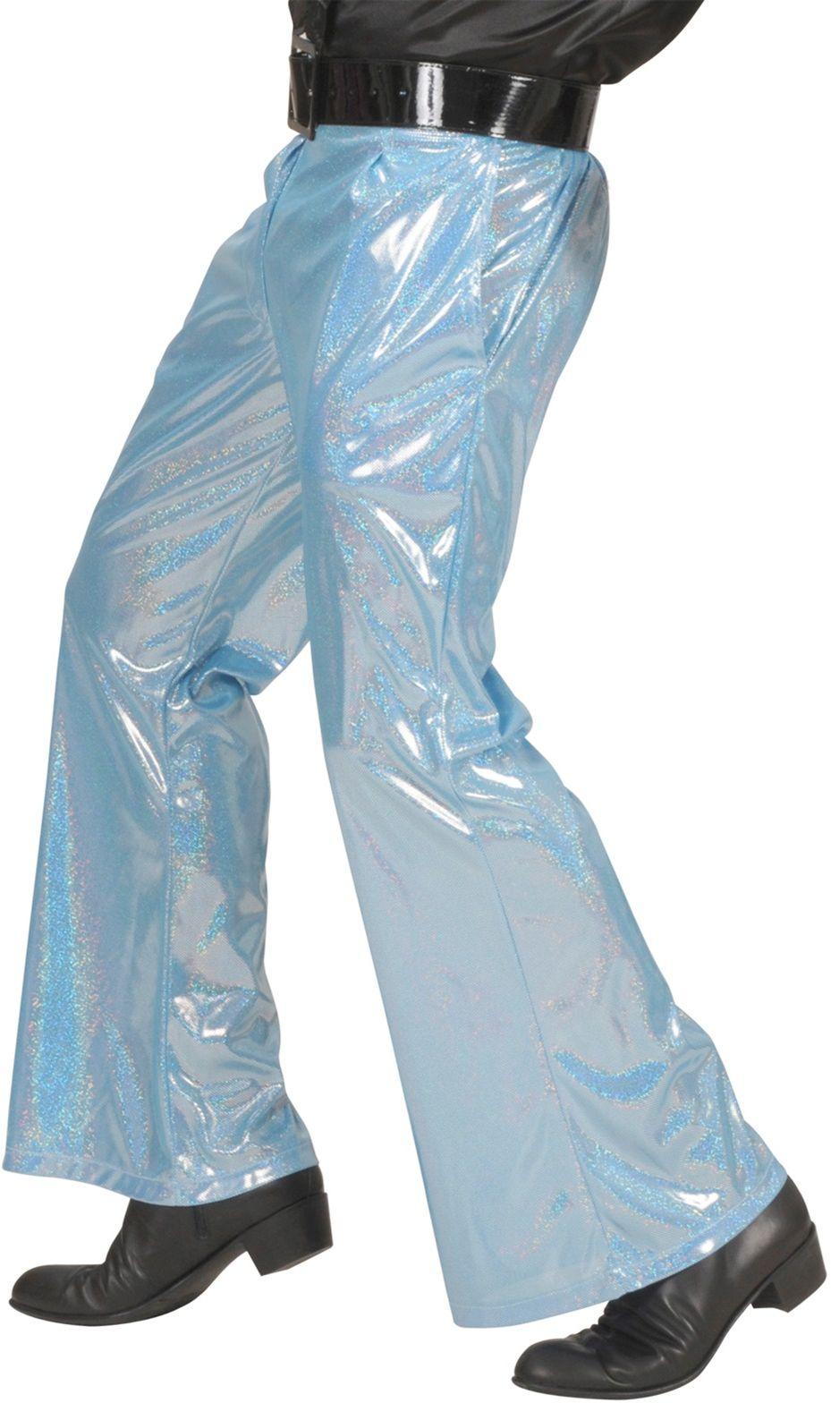 Disco broek blauw