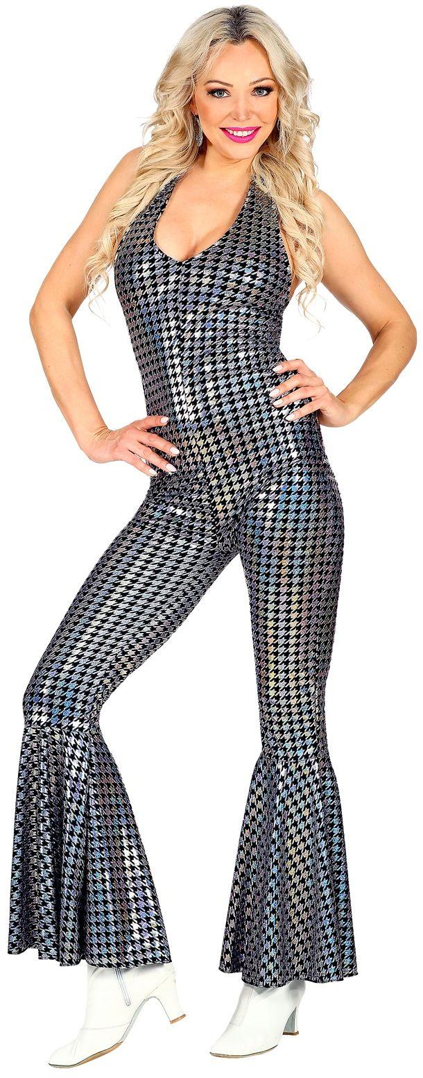 Disco jumpsuit vrouw