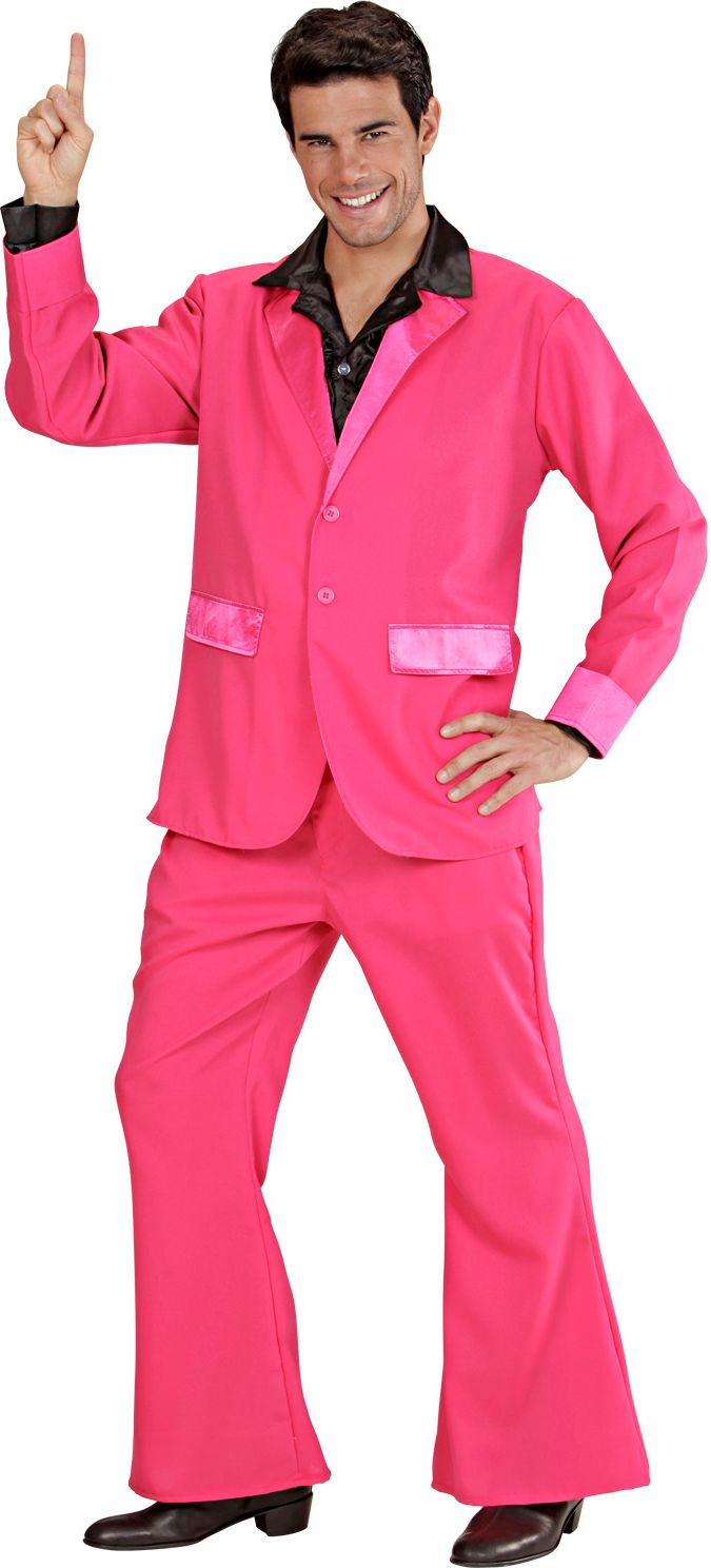 Disco outfit roze