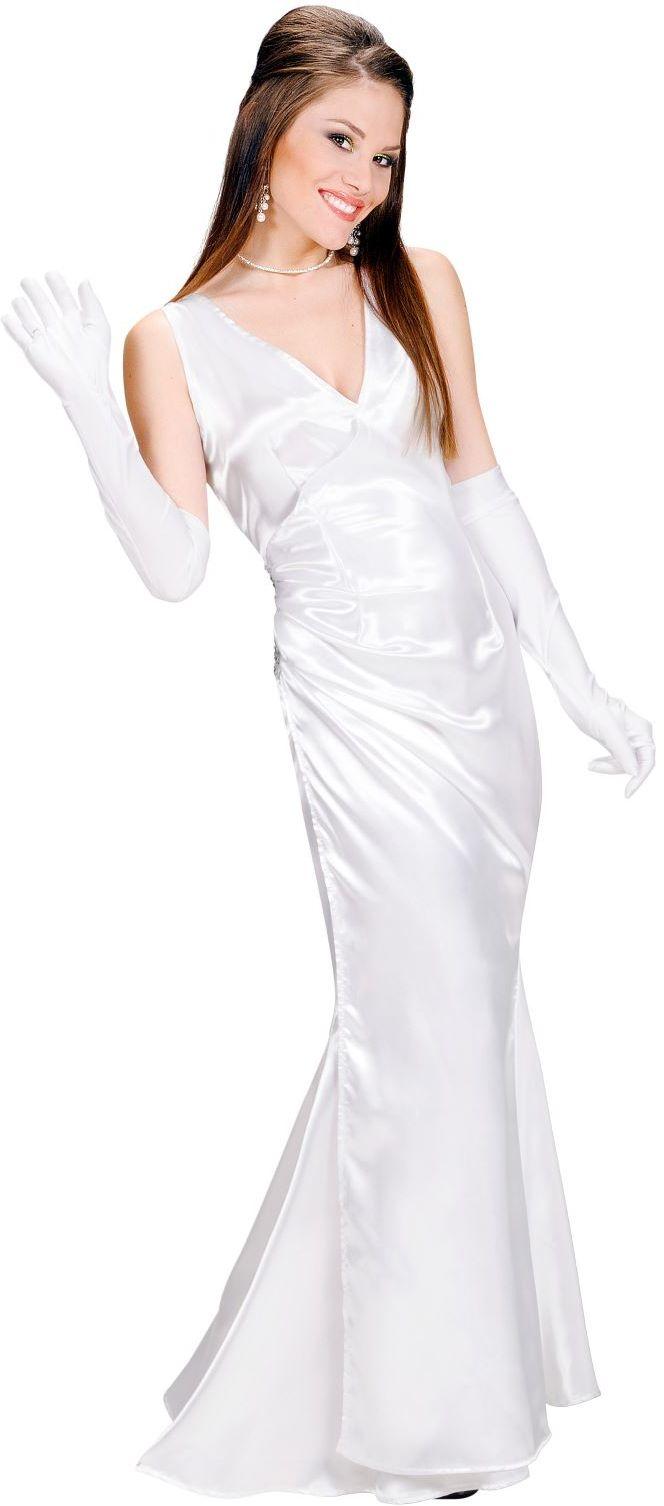 Diva jurk wit