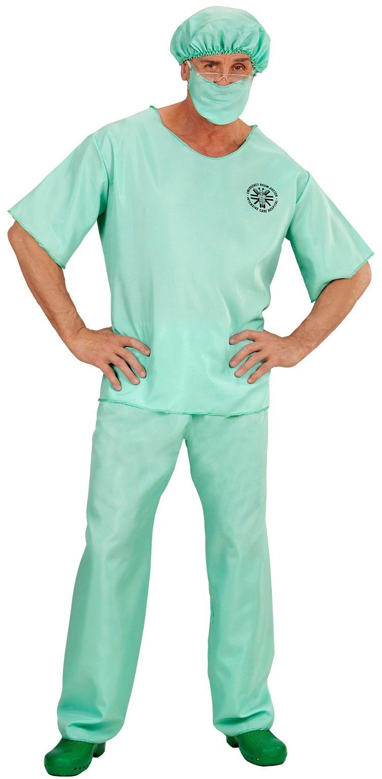 Dokter kostuum groen