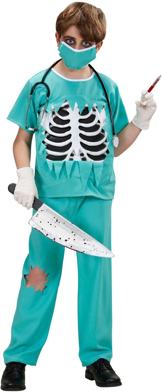 Professionele Halloween Kostuums.Dokter Kostuum Halloween Kind Feestkleding Nl