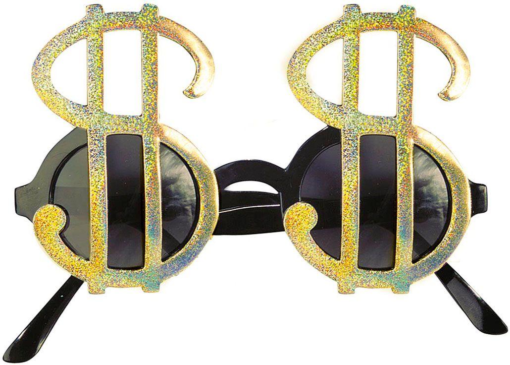 Dollarteken bril