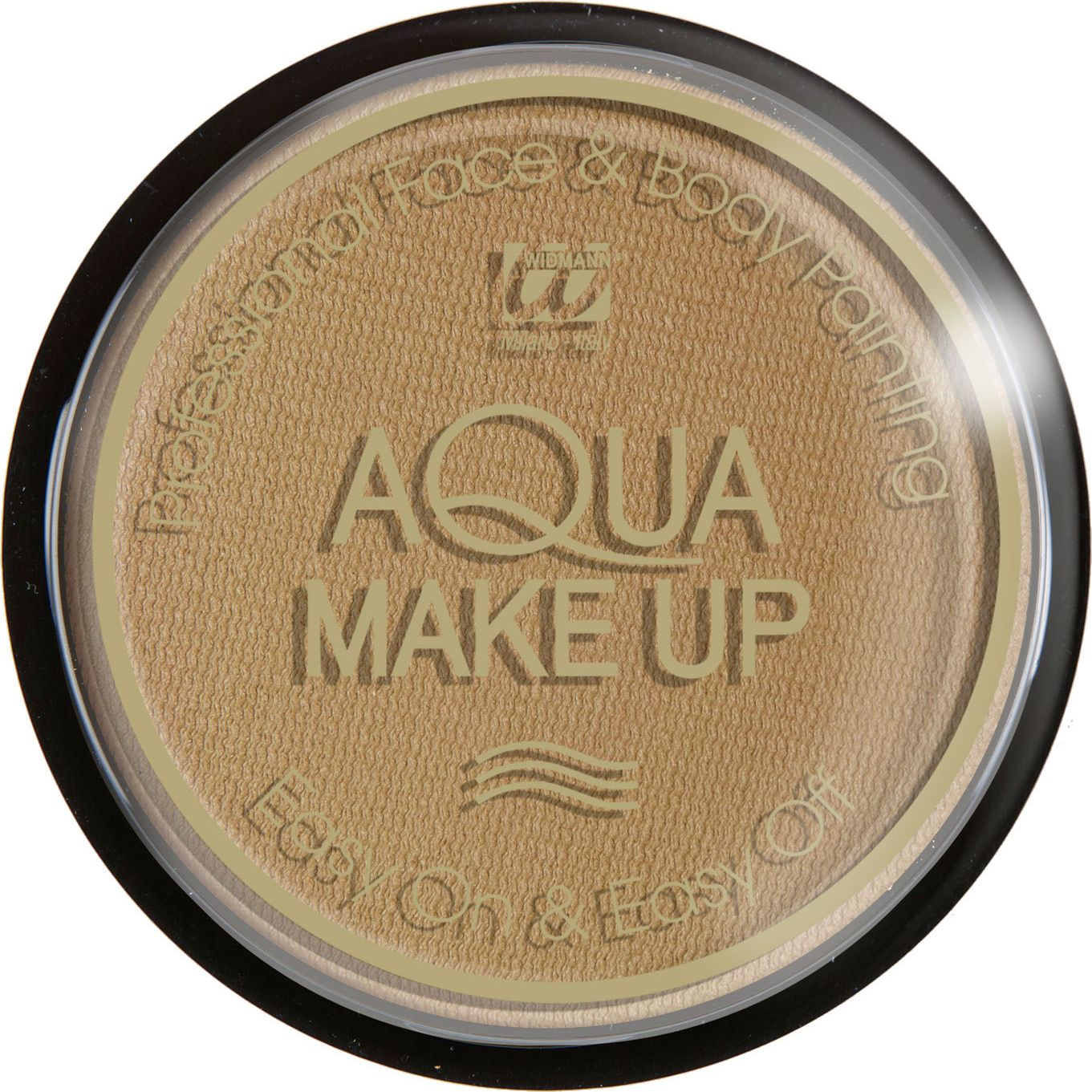 Donker beige waterbasis make-up