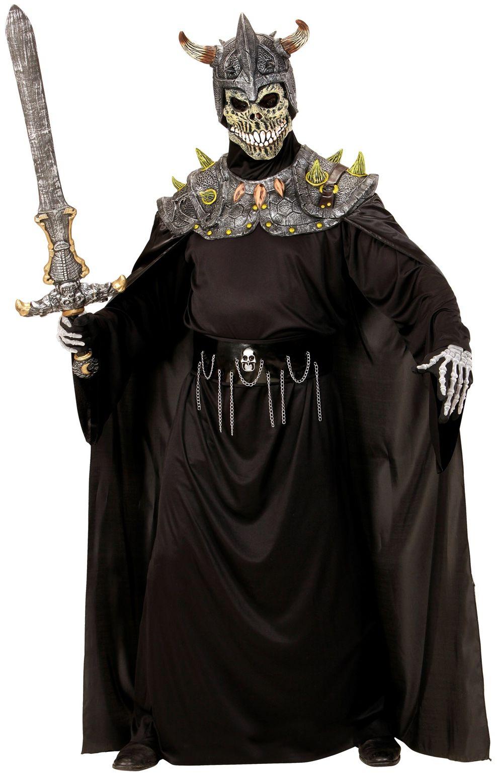 Doodsheer masker met cape One-size-volwassenen