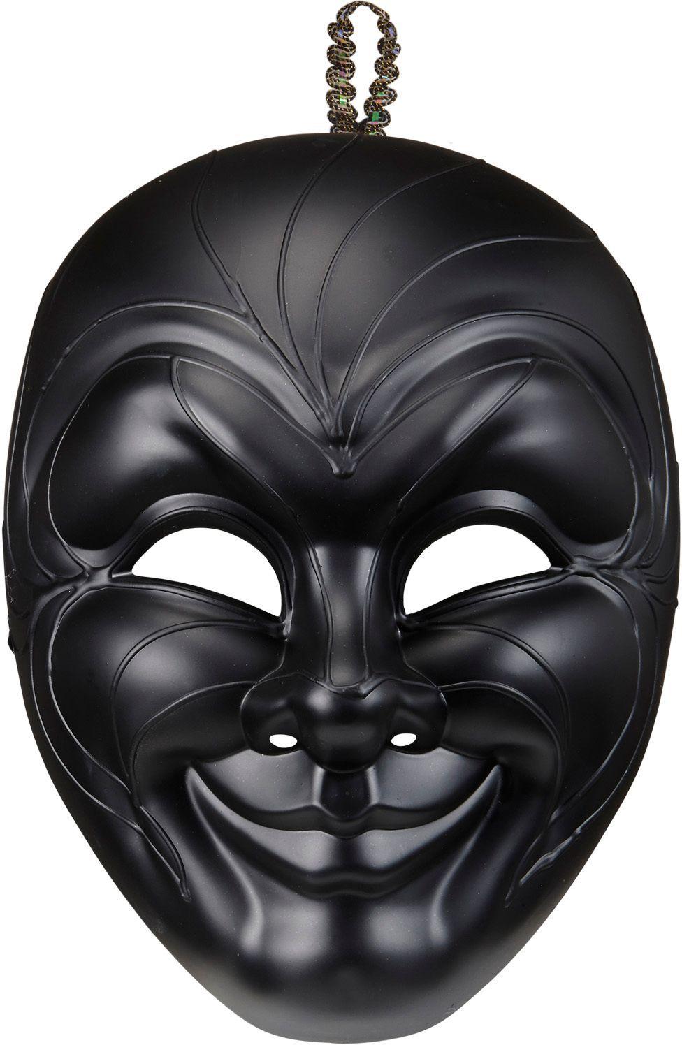 Duister venetiaans masker