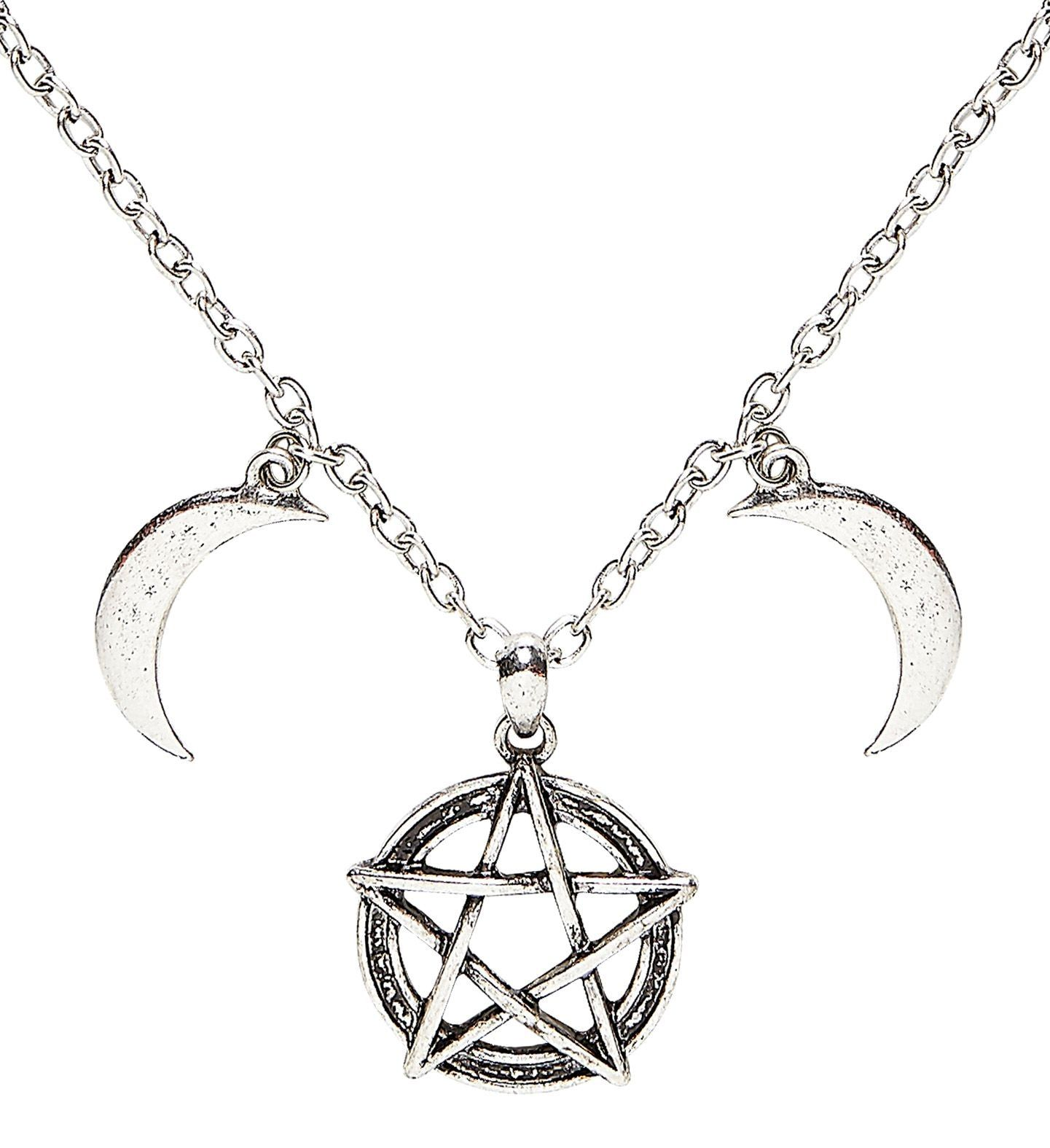 Duistere gothic ketting