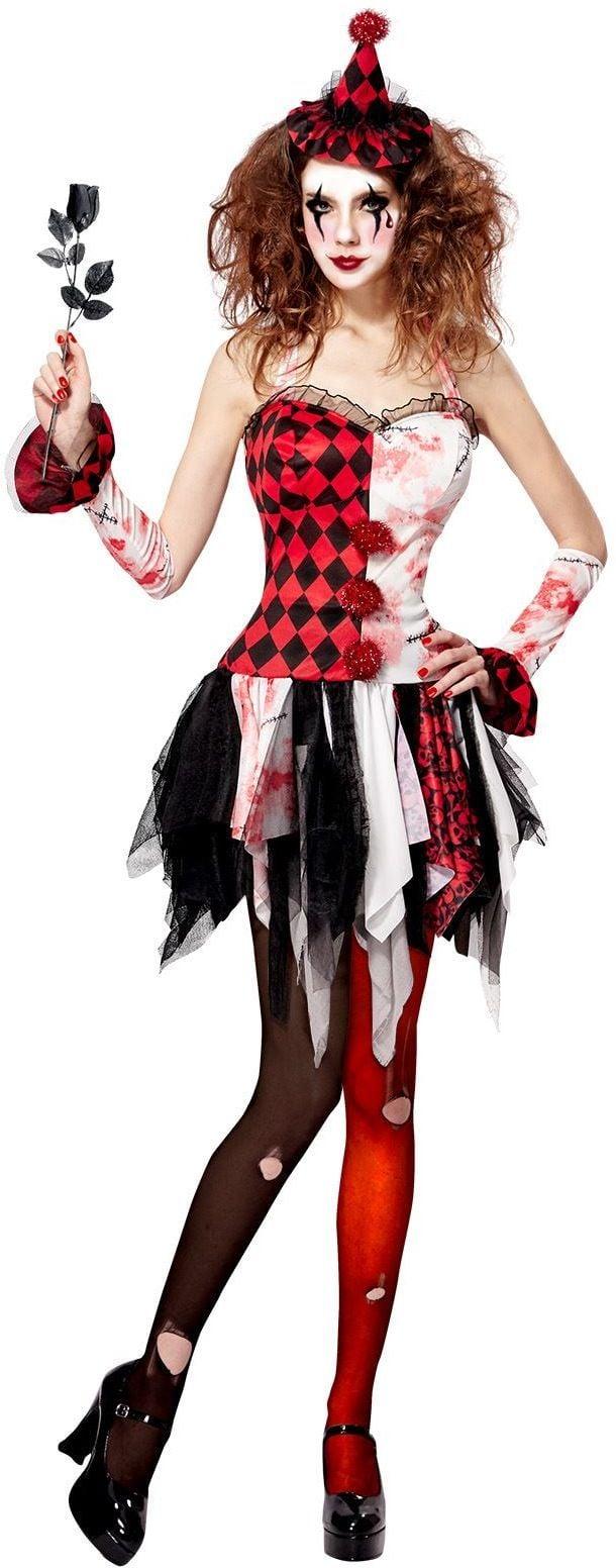 Duistere harlequin jurk