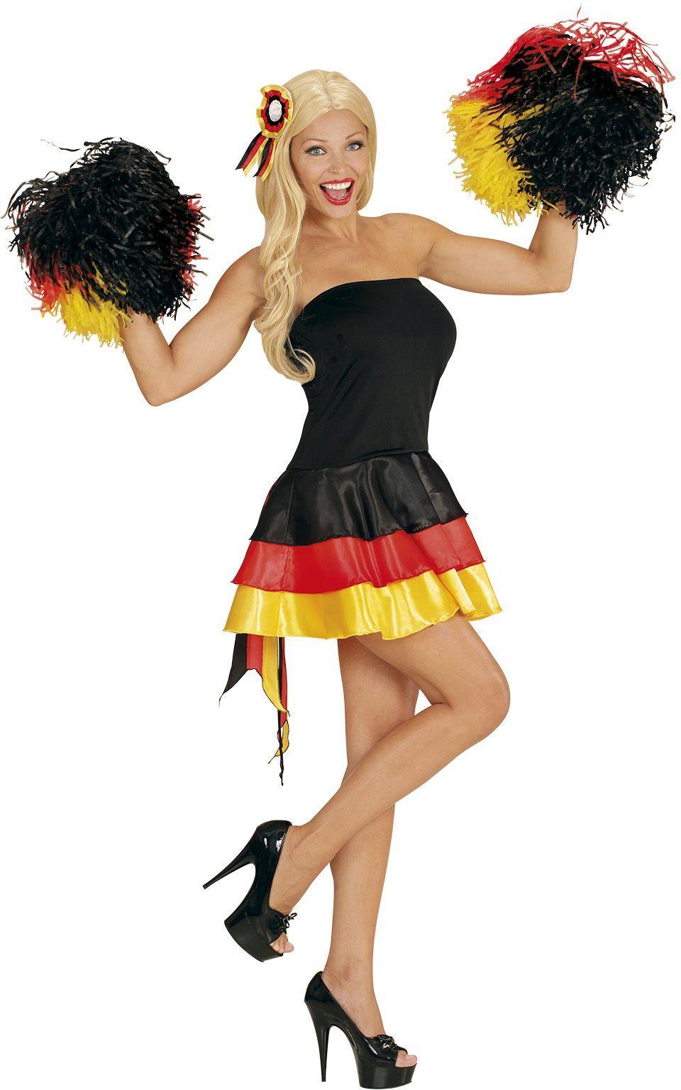 Duitse cheerleader jurk