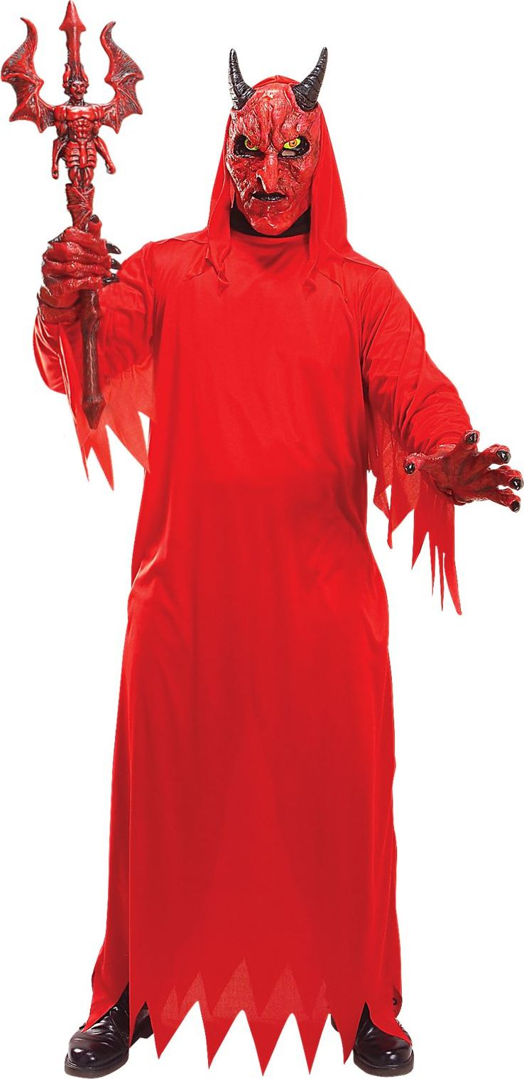 Duivel verkleedset rood