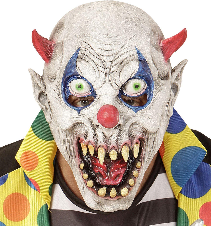 Duivels clownsmasker