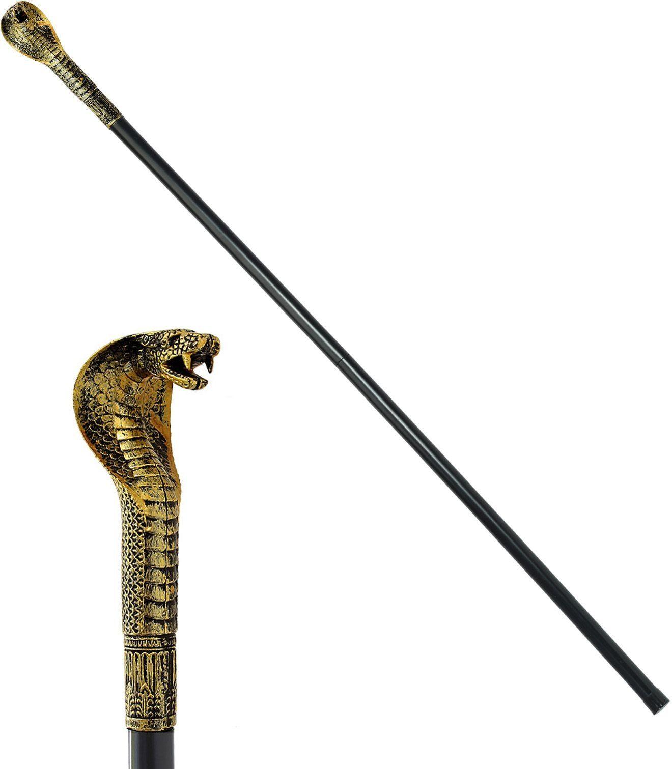 Egyptische Farao wandelstok inklapbaar
