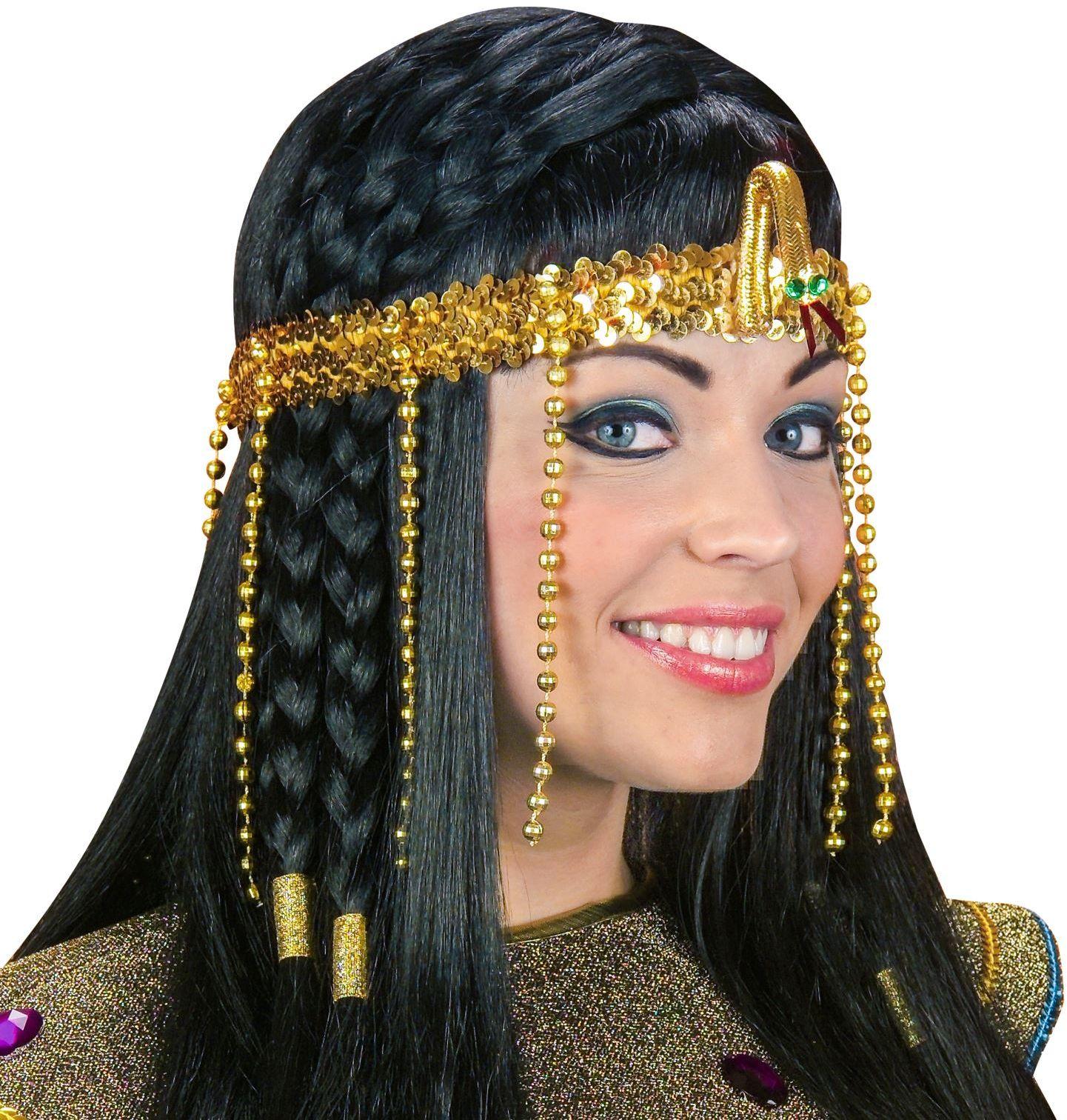 Egyptische gekraalde hoofdband