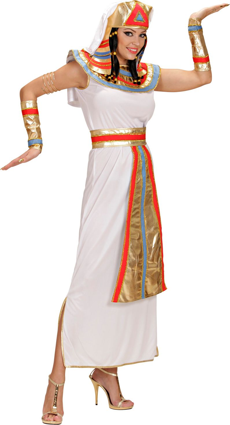 Egyptische koninginnen jurk