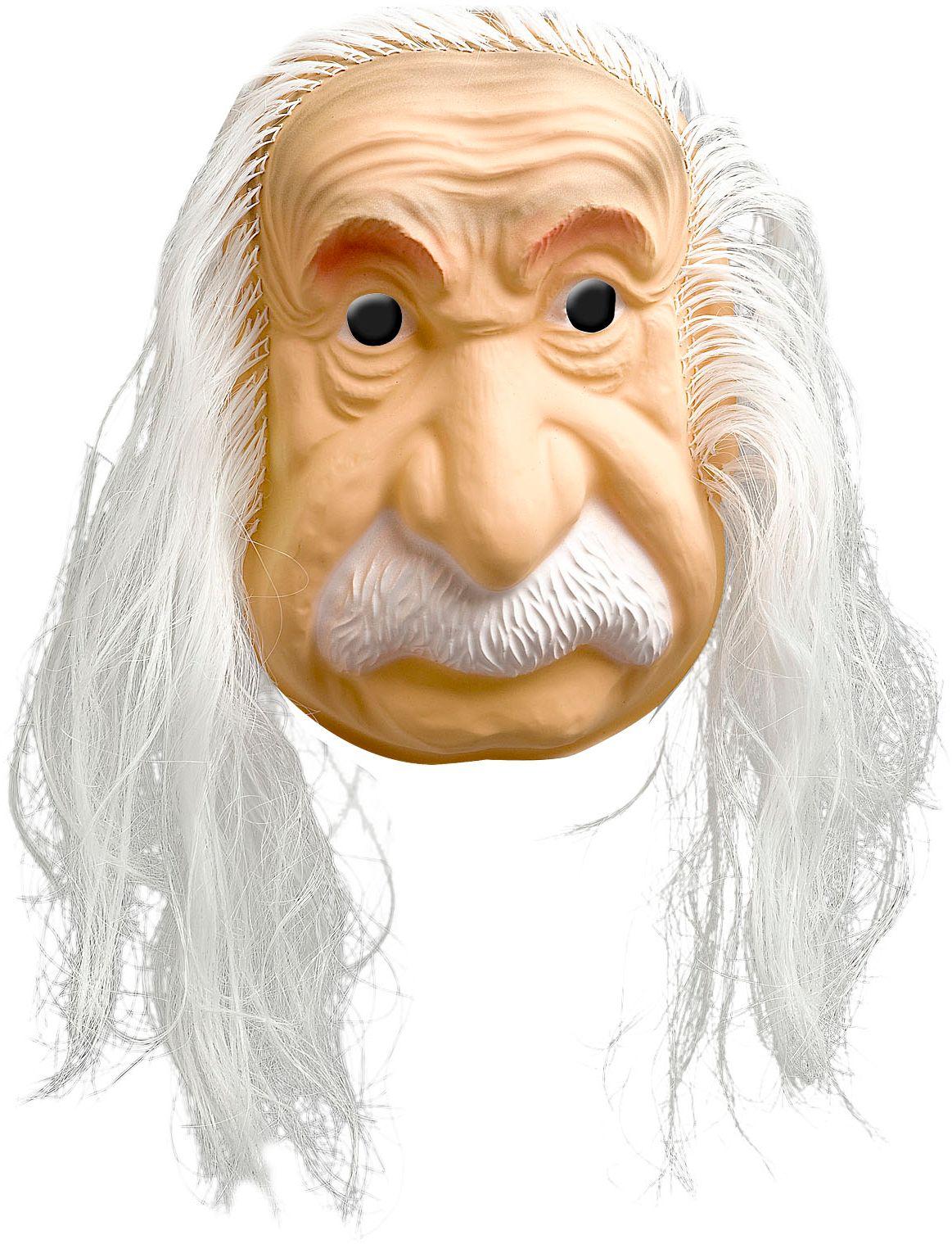 Einstein masker met haar