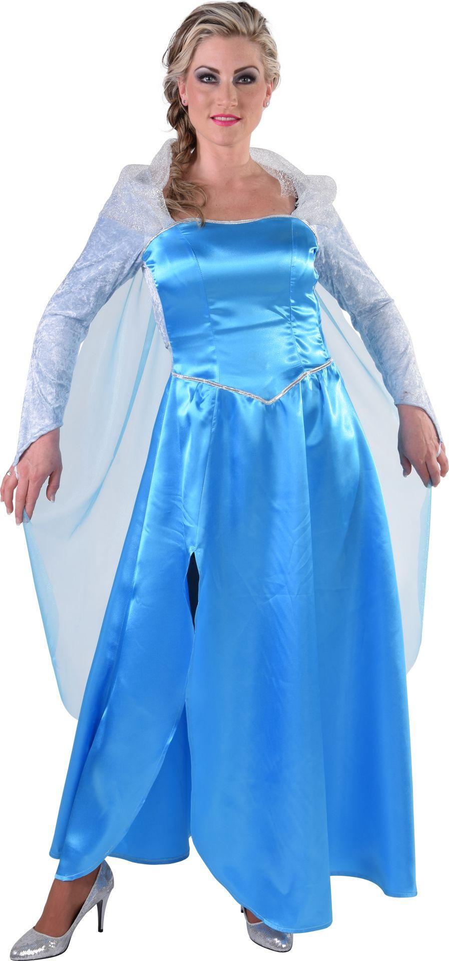 Elsa jurk Frozen vrouwen