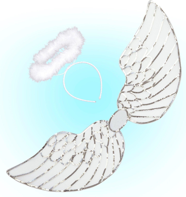 Engel vleugels met halo