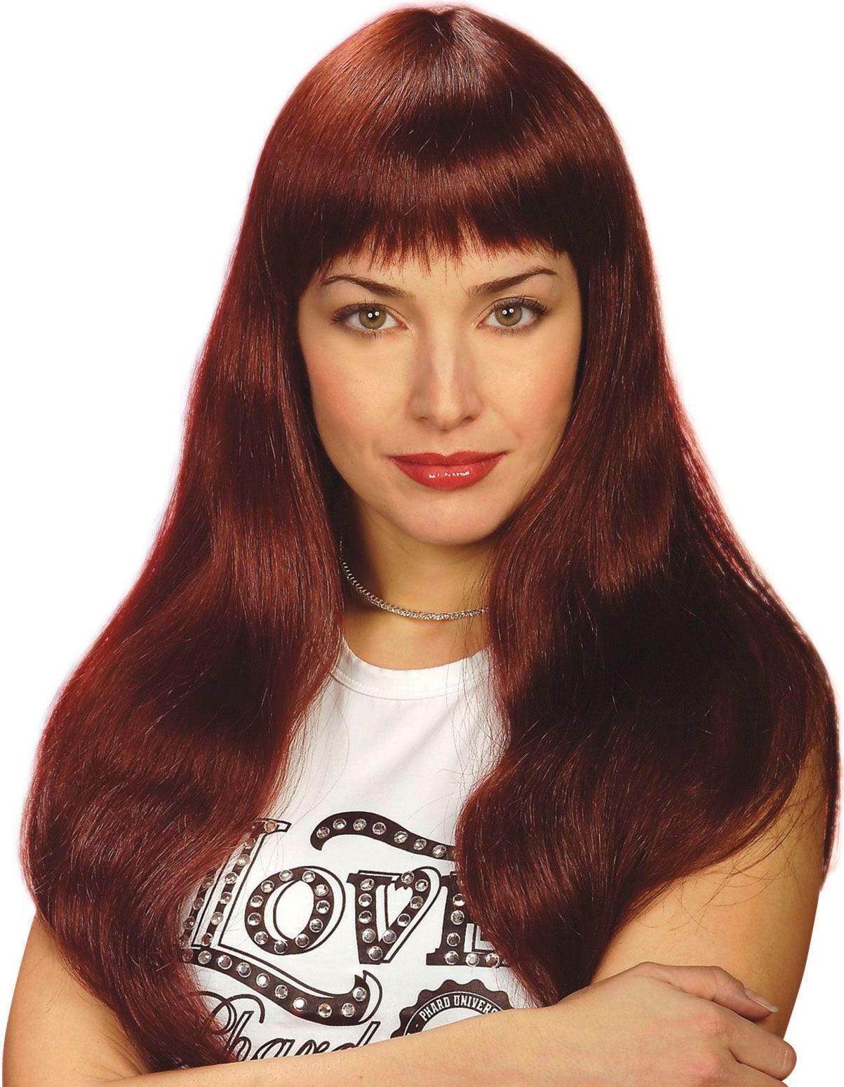 Eva pruik rood