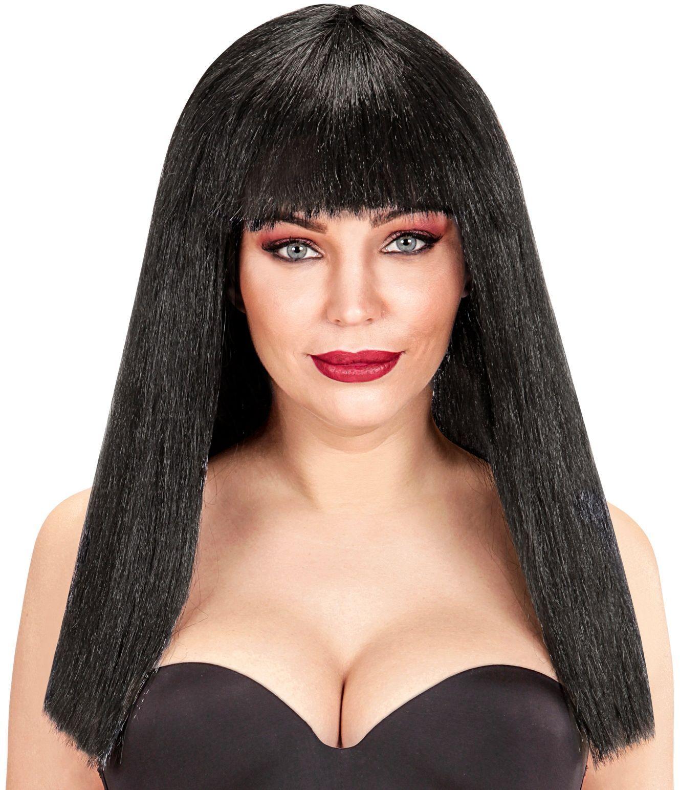Fanny pruik zwart