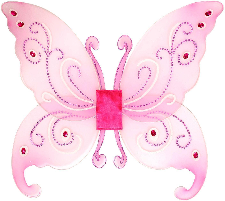 Fantasie vleugels met edelstenen