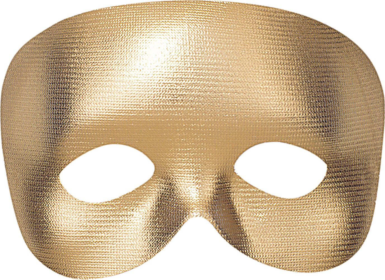 Fantoom oogmasker goud