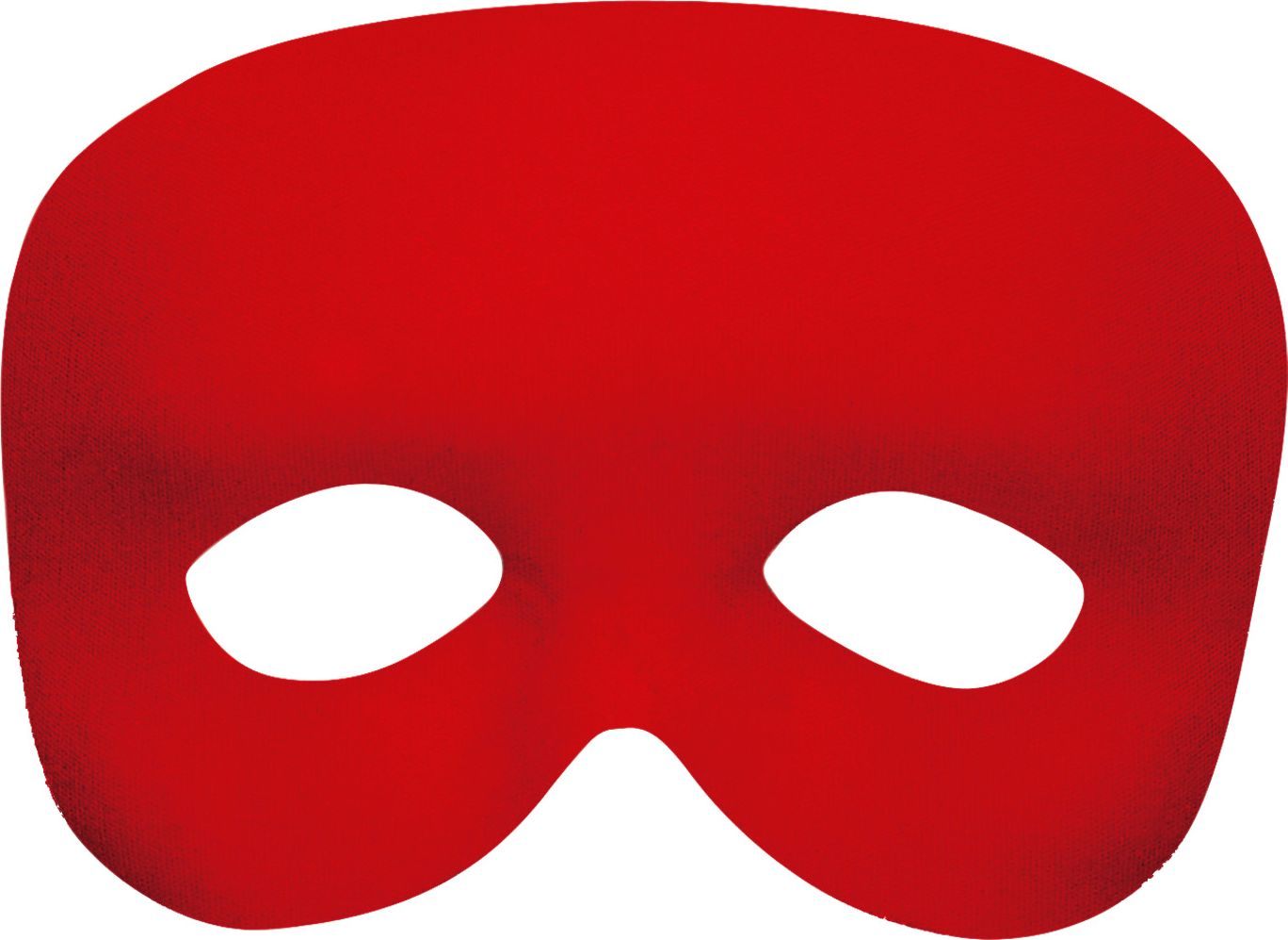 Fantoom oogmasker rood