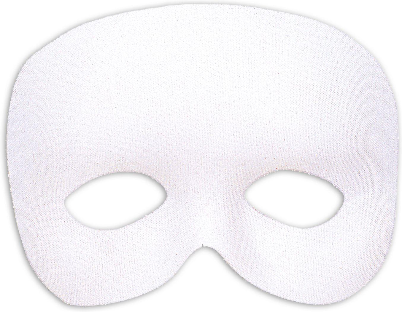 Fantoom oogmasker wit