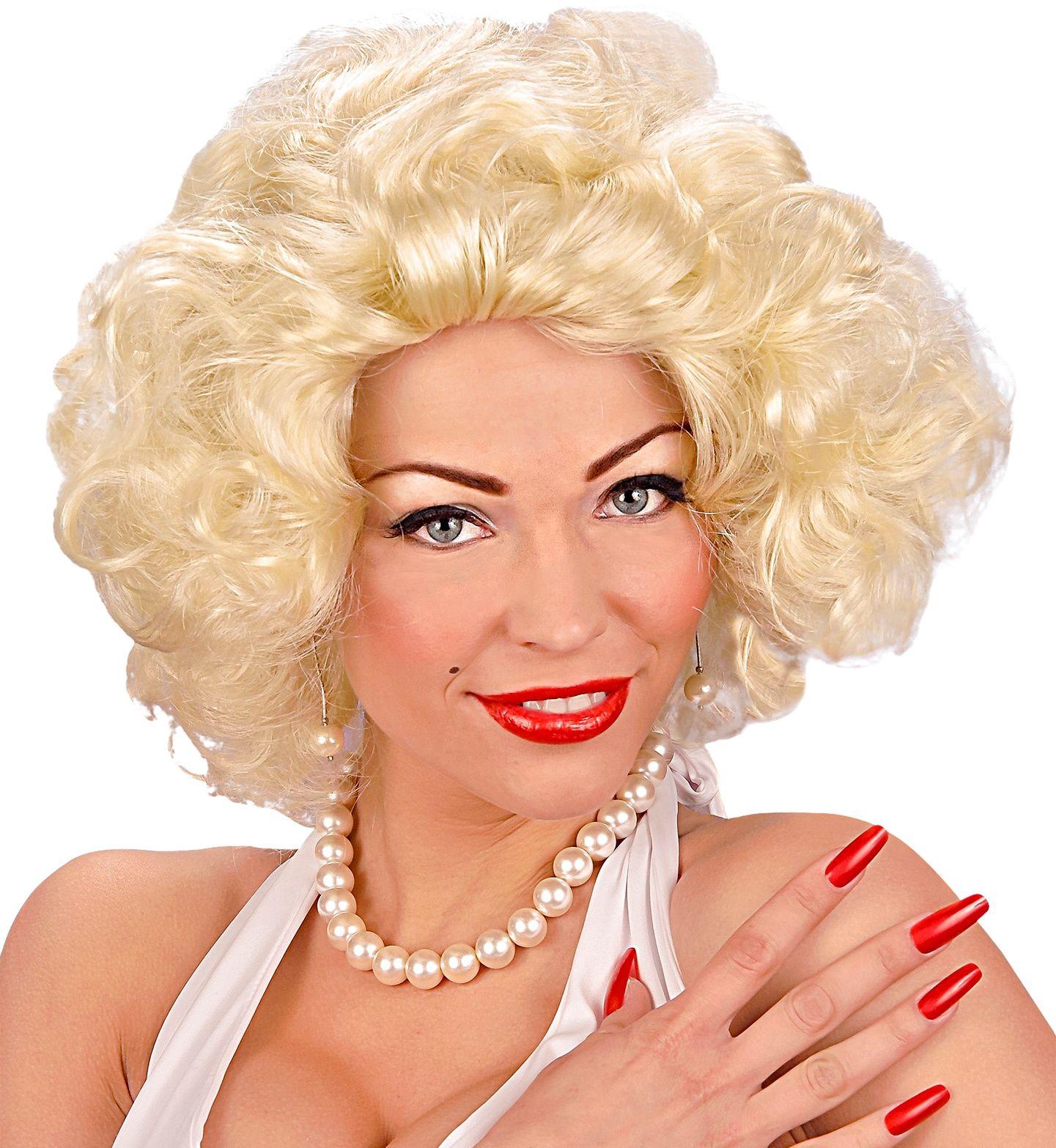 Filmster pruik blond