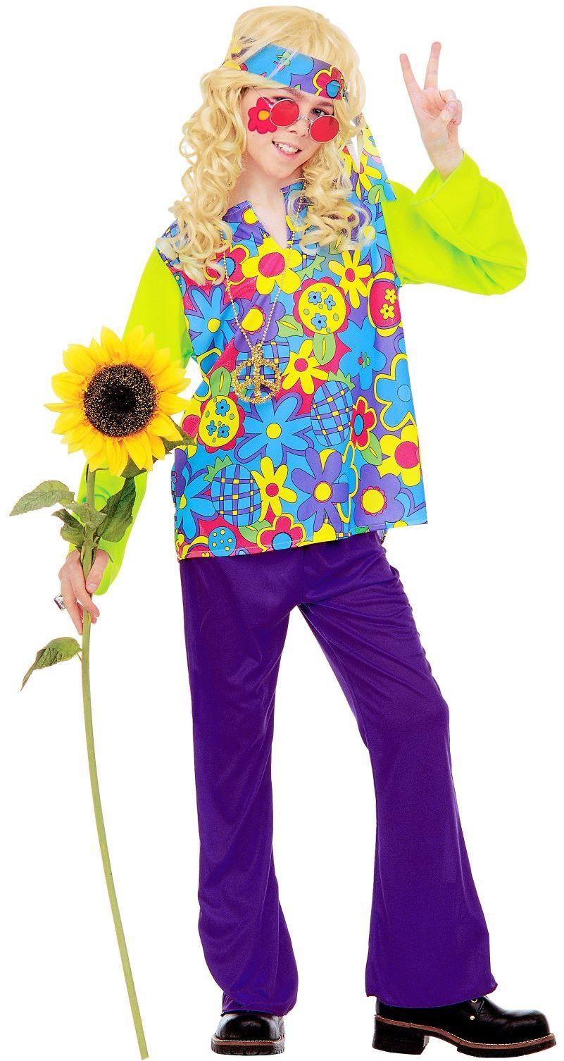 Flower power kleding jongens