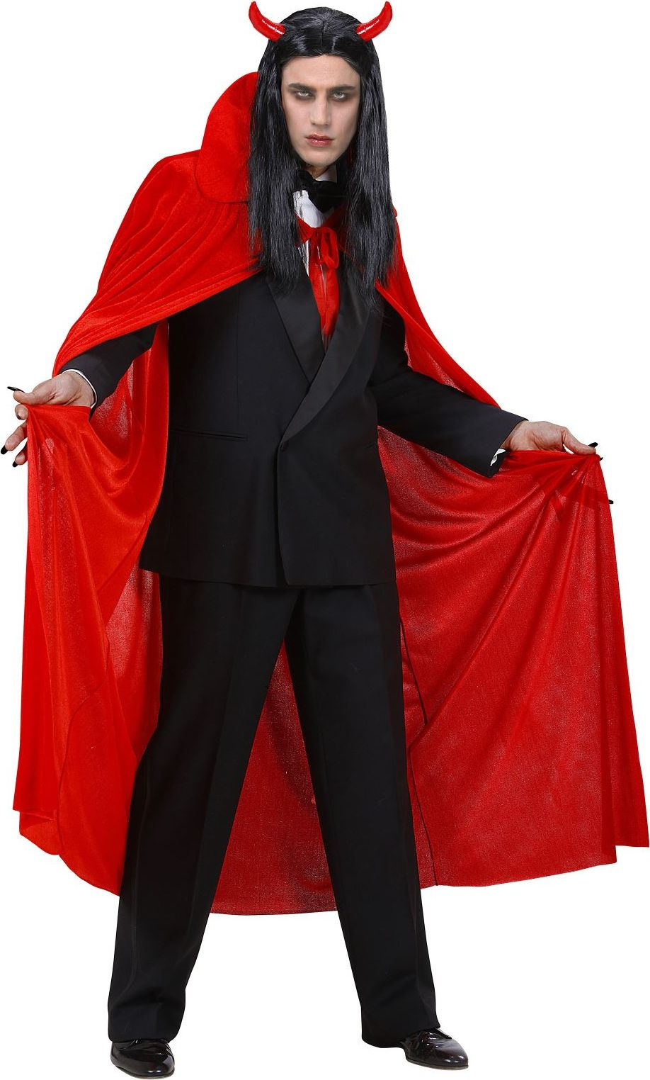 Fluwelen duivel cape