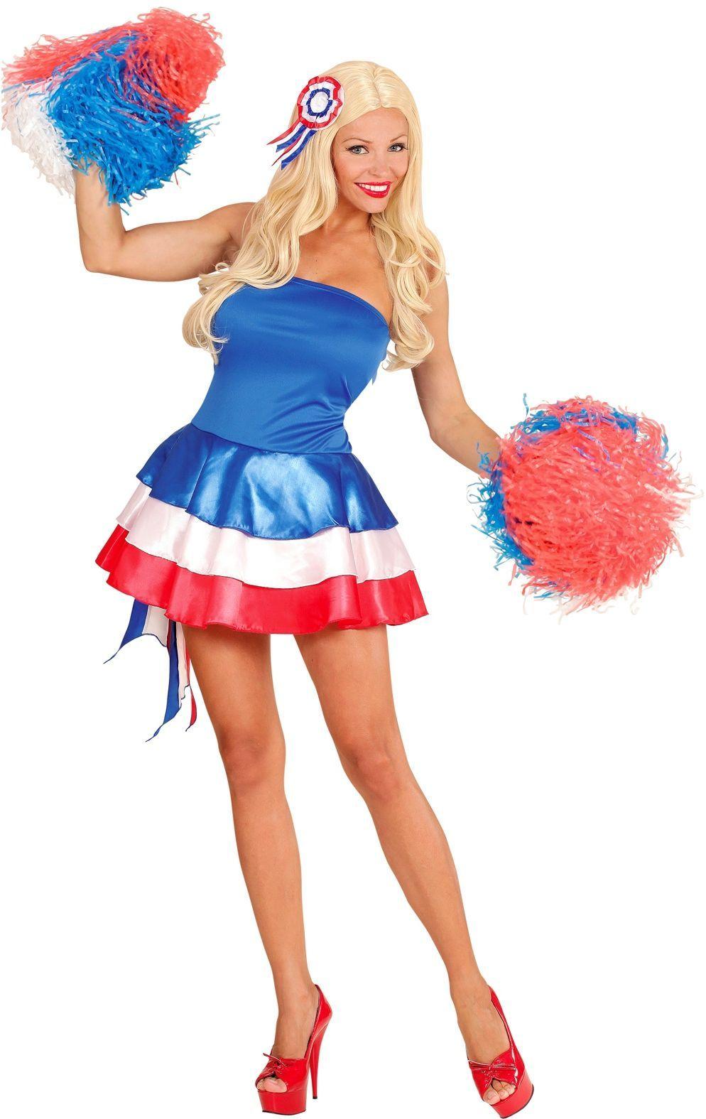 Franse cheerleader jurk