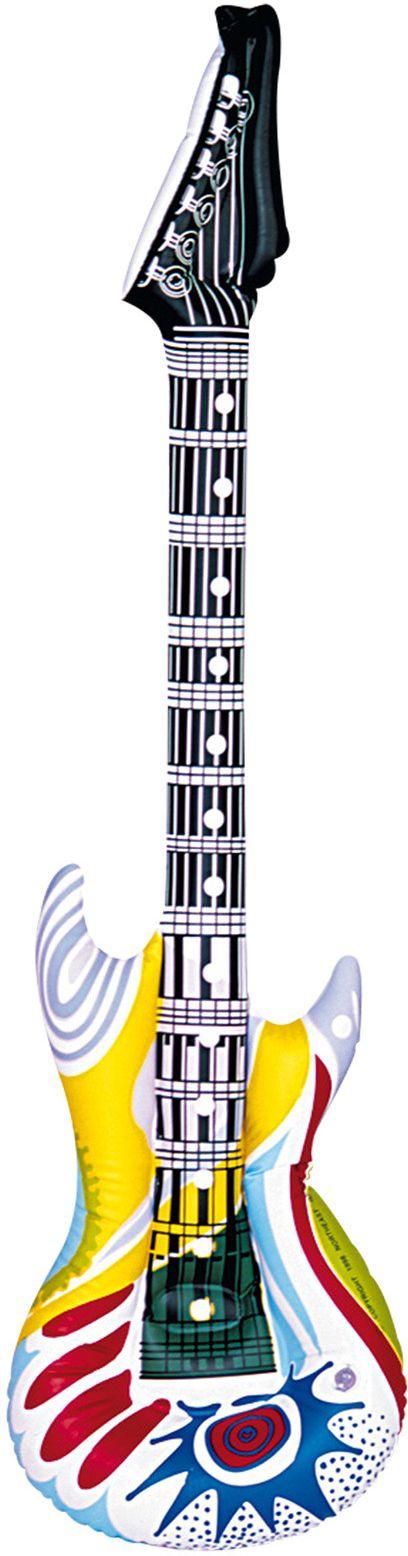 Funky gitaar opblaasbaar