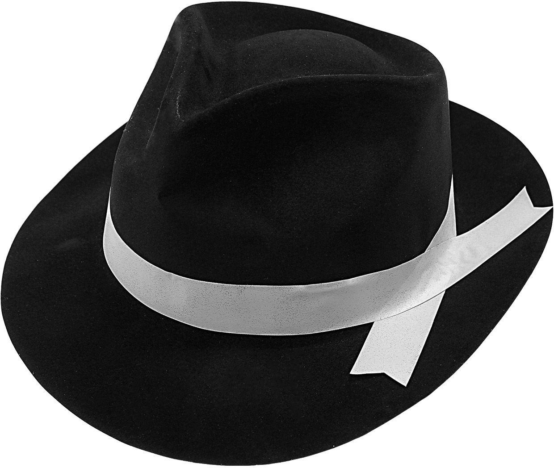 Gangster hoed met lint