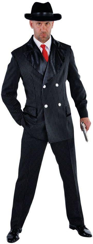 Gangster kostuum jaren 20 heren
