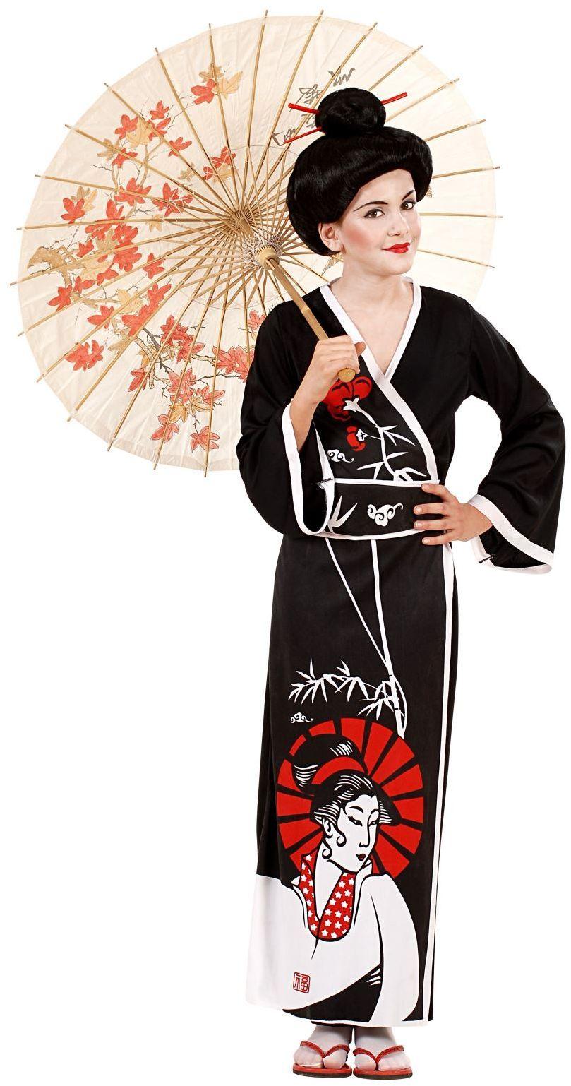 Geisha kimono jurk