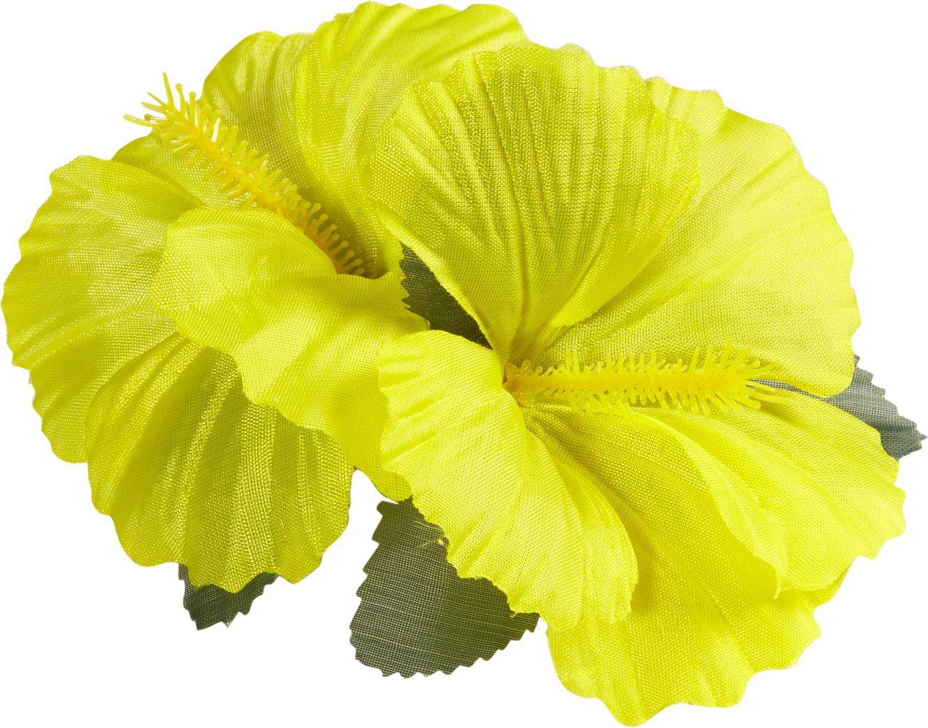 Gele bloemen haarspeld