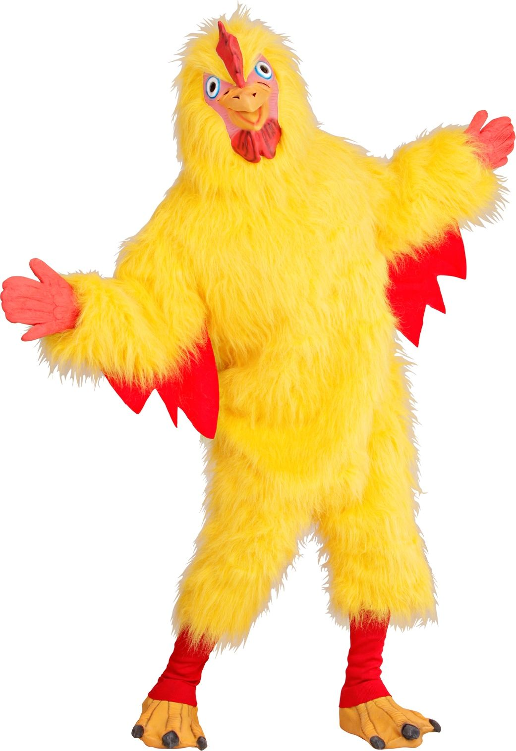 Gele kippen onesie