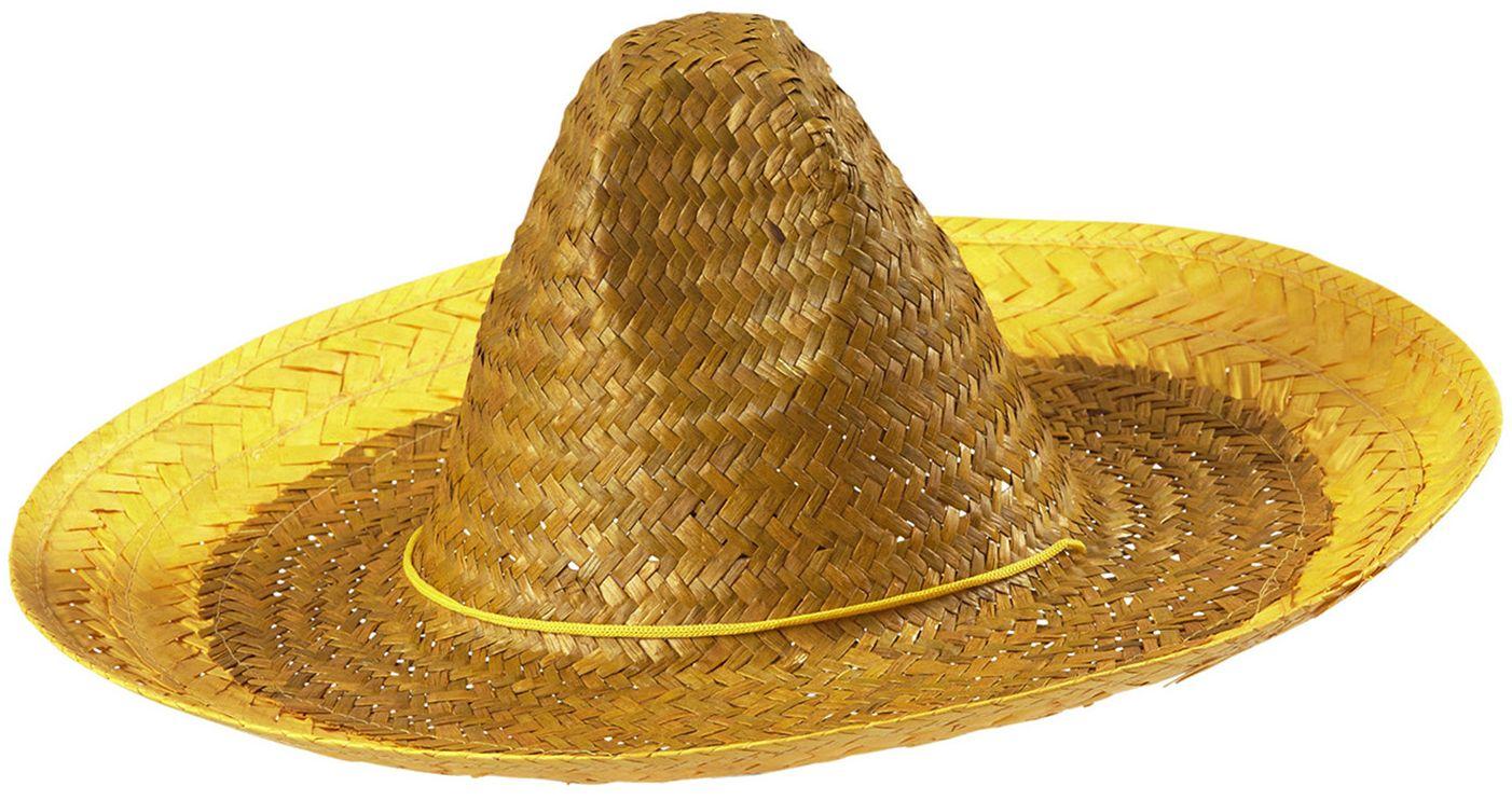 Gele mexicaanse sombrero