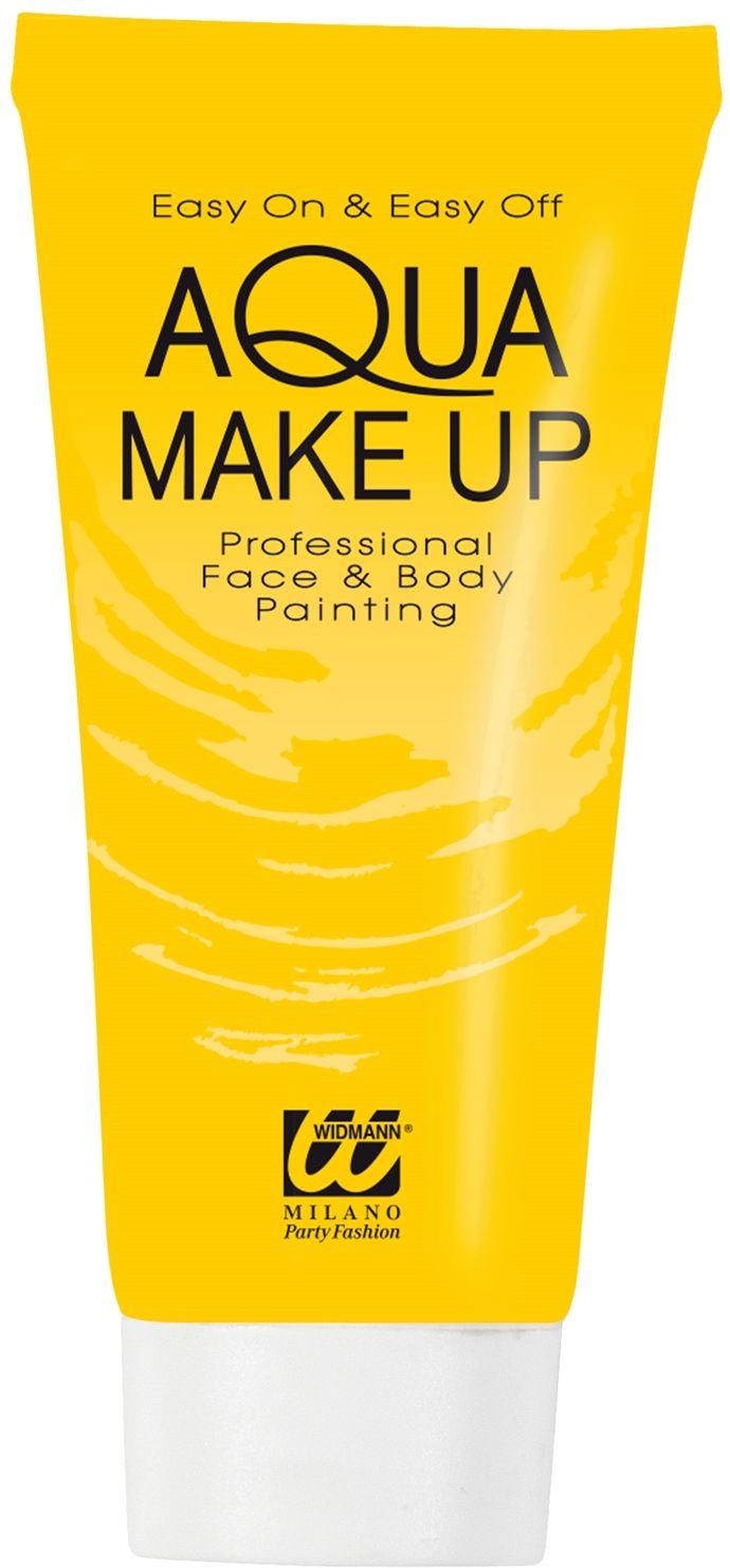 Gele waterbasis make-up tube